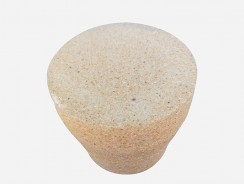 黏土质实心模底砖