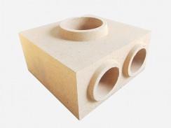 黏土质中心砖