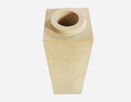 clay square pipe brick